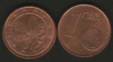 Germania 2005A - 1 eurocent, circulata