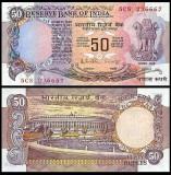 India 1983 - 50 rupees, necirculata