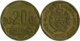 Peru 2010 - 20 céntimos, circulata