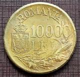 Romania 1947 - 10.000 lei XF, cu luciu partial