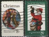 Statele Unite 1972 - Craciun, serie stampilata