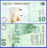 Antarctica 2010 - 10 dollars, necirculata