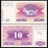 Bosnia Hercegovina 1992 -   10 dinari, necirculata
