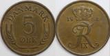 Danemarca 1964 - 5 ore, circulata