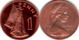 Gambia 1966 - 1 penny aUNC