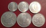 Germania 1970-82 - set monede, circulate