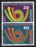 Liechtenstein 1973 - Europa, serie stampilata