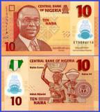 Nigeria 2020 - 10 naira, necirculata