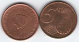 Olanda 2001 - 5 eurocent, circulata