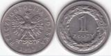 Polonia 1993 - 1 zloty, circulata
