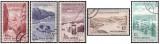 Romania 1964 - Puncte turistice la munte, serie stampilata