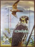 Romania 2007 - Păsări de pradă, colita stampilata