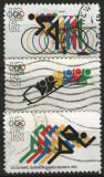 Statele Unite 1972 - J.O. de iarnă și vară din Sapporo și München, serie stampilata