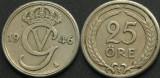 Suedia 1946 - 25 ore, circulata
