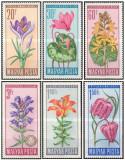 Ungaria 1966 - Flori Protejate, serie neuzata