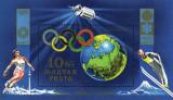 Ungaria 1972 - Jocurile Olimpice - Sapporo și München, colita neuzata