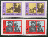Ungaria 1982 - 25th Anniversary of the National Militia, serie neuzata x2