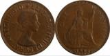Anglia 1966 - 1 penny, circulata