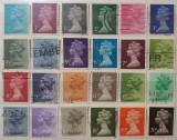Anglia 1970-76 - serie scurta porto, stampilata
