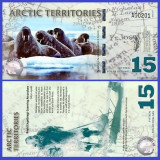 Antarctica 2011 - 15 dollars, necirculata