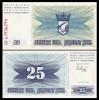 Bosnia Hercegovina 1992 -   25 dinari, necirculata