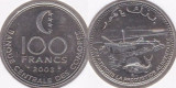 Comore 2003 - 100 franci, circulata