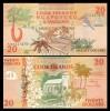 Cook Islands 1992 - 20 dollars, necirculata