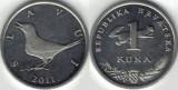 Croatia 2011 - 1 kuna, circulata