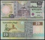 Egipt 2007 - 20 pounds, necirculata