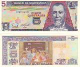 Guatemala 2006 - 5 quetzales, necirculata