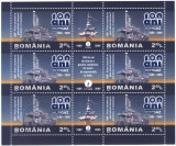 Romania 2009 - ROMGAZ - 100 de ani, bloc stampilat