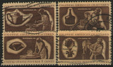 Statele Unite 1972 - Meșteșugari coloniali, serie stampilata