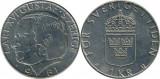 Suedia 1981 - 1 krona, circulata