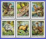 Ungaria 1979 - animale protejate, serie neuzata
