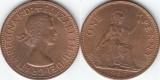 Anglia 1967 - 1 penny, circulata