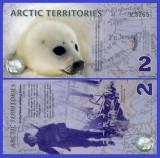 Antarctica 2010 - 2 dollars, necirculata