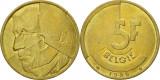 Belgia 1986 - 5 franci, circulata