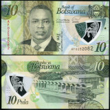 Botswana 2020 - 10 pula, necirculata - polimer