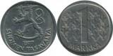 Finlanda 1977 - 1 markka, circulata