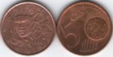 Franta 1999 - 5 eurocent, circulata