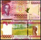 Guinea 2018 - 10.000 francs, necirculata