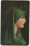 Pictura de Jean J. Henner - Studienkopf, vedere Stengel 29468
