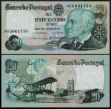 Portugalia 1978 - 20 escudos UNC