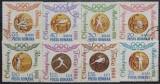 Romania 1964 - Medalii Olimpice, serie stampilata