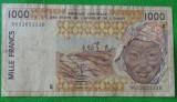 Senegal 1996 - 1000 franci, circulata