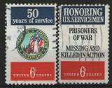 Statele Unite 1970 - pt Veterani și militari cu dizabilități, serie stampilata