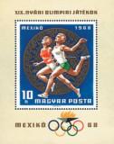 Ungaria 1968 - Jocurile Olimpice Mexic, colita neuzata