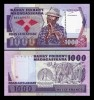 Madagascar 1987 - 1000 francs, necirculata