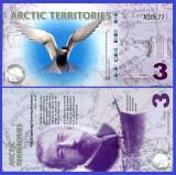 Antarctica 2011 - 3 dollars, necirculata