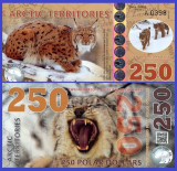 Antarctica 2017 - 250 dollars, necirculata